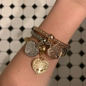 3 bracelets